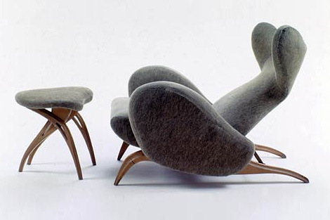 Mouse Lounge Chair by Carlo Mollino