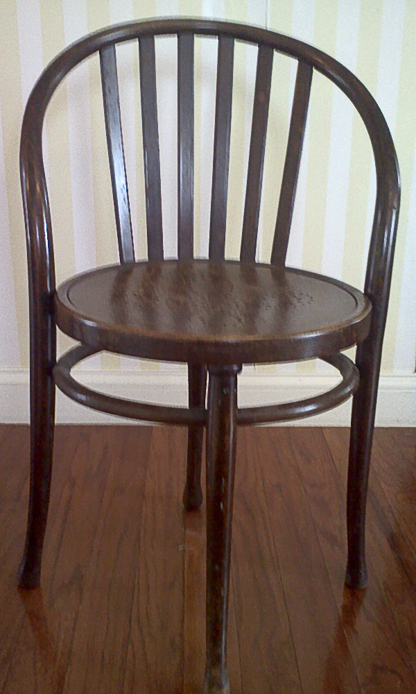 mystery thonet Austria bentwood chair