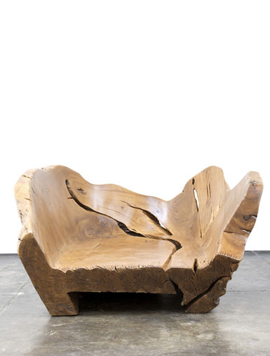 Natural Wood Chair By By Hugo França