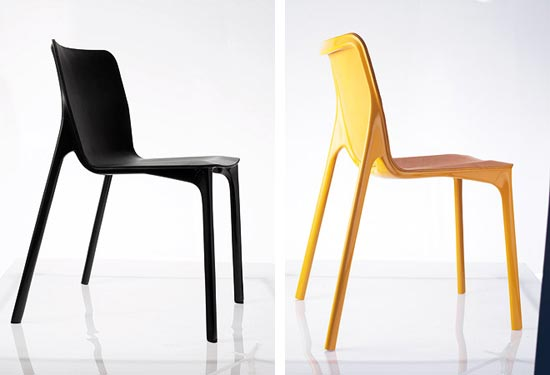 new chair by stefan diez. Black Bedroom Furniture Sets. Home Design Ideas