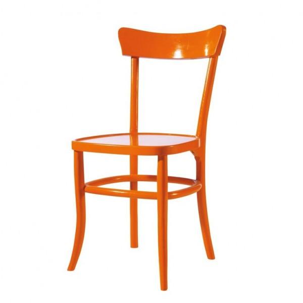orange bistro chair chairblog eu