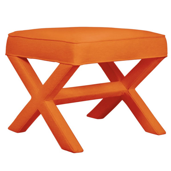Orange Jonathan Adler X Bench