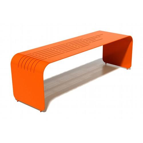 Orange Lines Bench