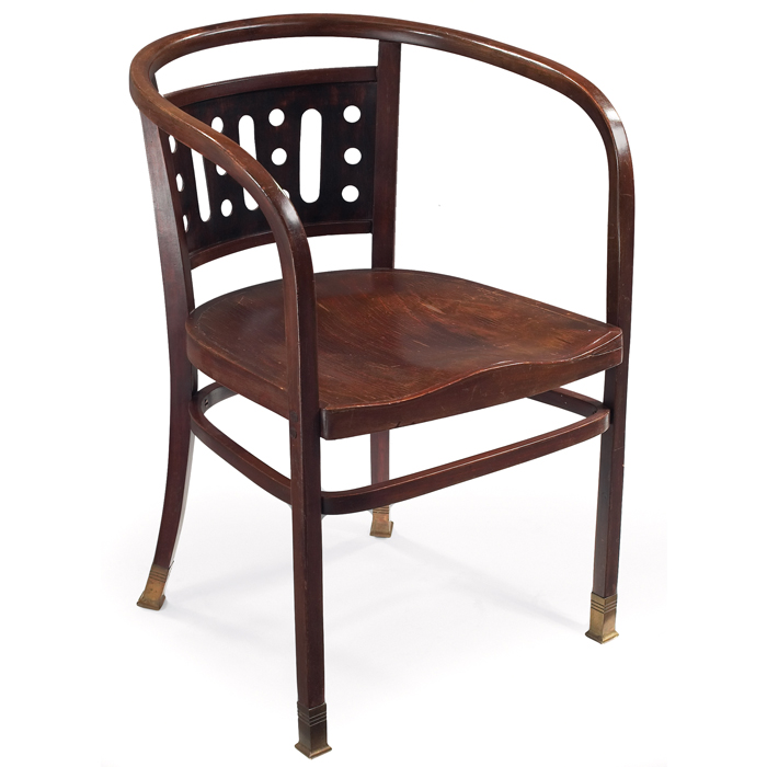 Otto Wagner Armchair by J&J Kohn