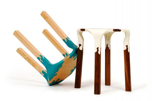 Plastic Nature Stool by Alexander Pelikan