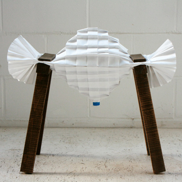Pleated-Pleat-Stool-by-Raw-Edges