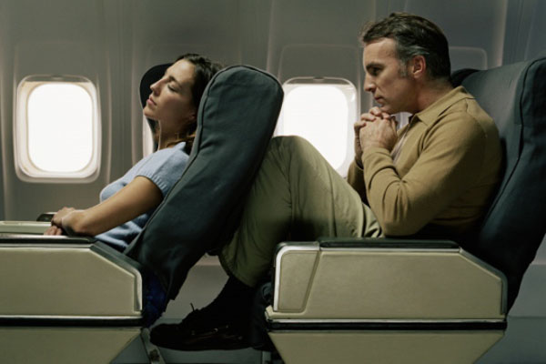 Reclining Airline seat horror 2