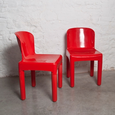 Red Chairs by Marcello Siard (1969)
