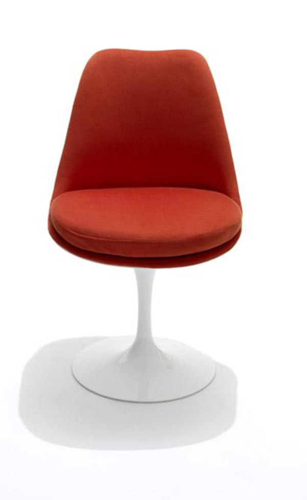 Red Tulip-Chair-by-Eero-Saarinen