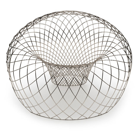 Reverb Wire Chair by Brodie Neill