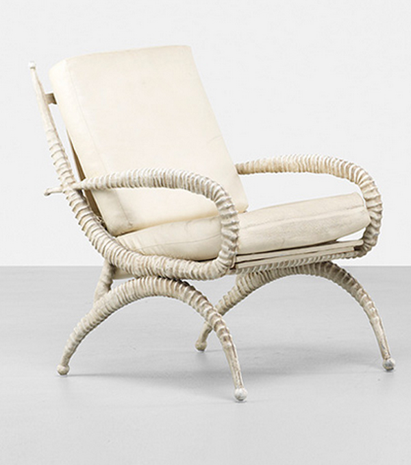 Sable Horn Chairs by Arthur Court