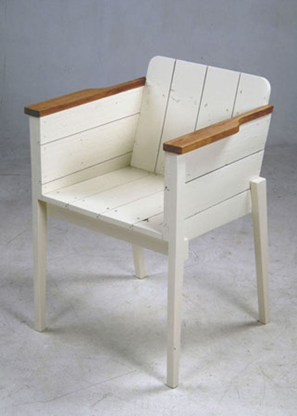 Scrap Wood Chair by Piet-Hein Eek
