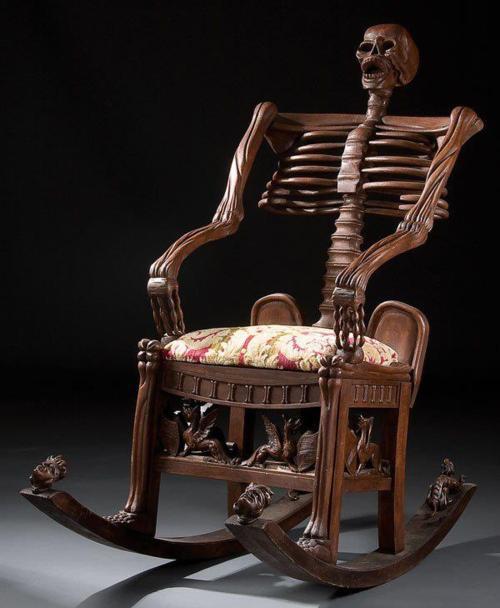 Skeleton Armchair