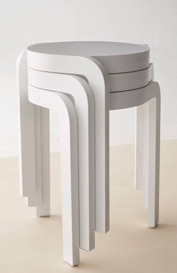 Spin-Stool-by-Staffan-Holm-white-and-stacked