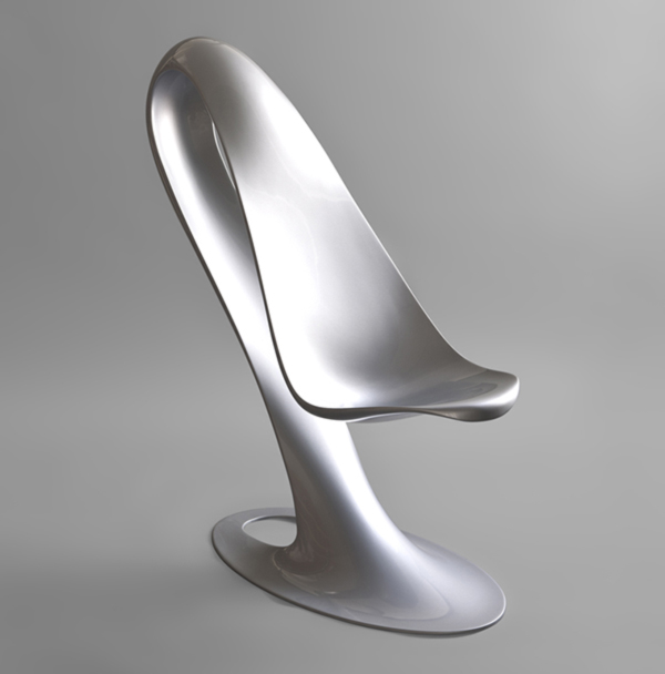 Spoon chair by philipp aduatz for Chaise originale