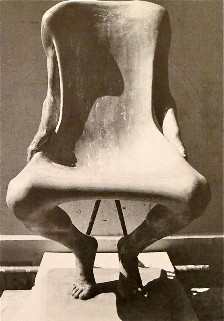 "The Birth of Ruth Francken's ""Homme"" Chair"