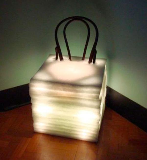 A Thonet Chair as a Floor Lamp - Chairblog.eu
