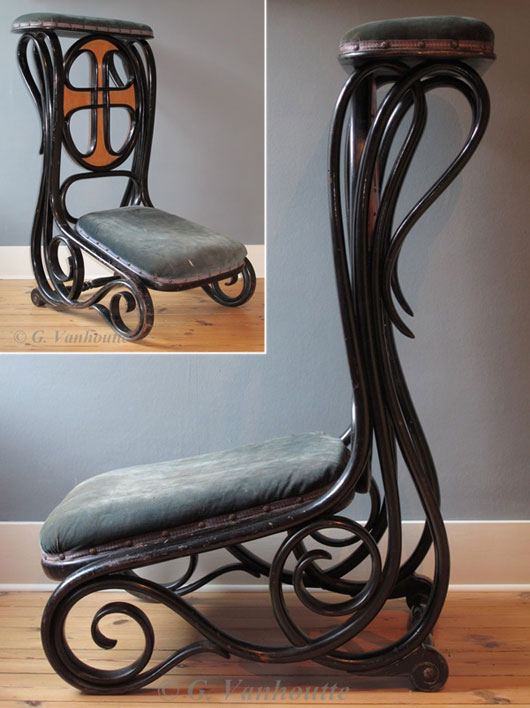 Thonet Prayer Chair