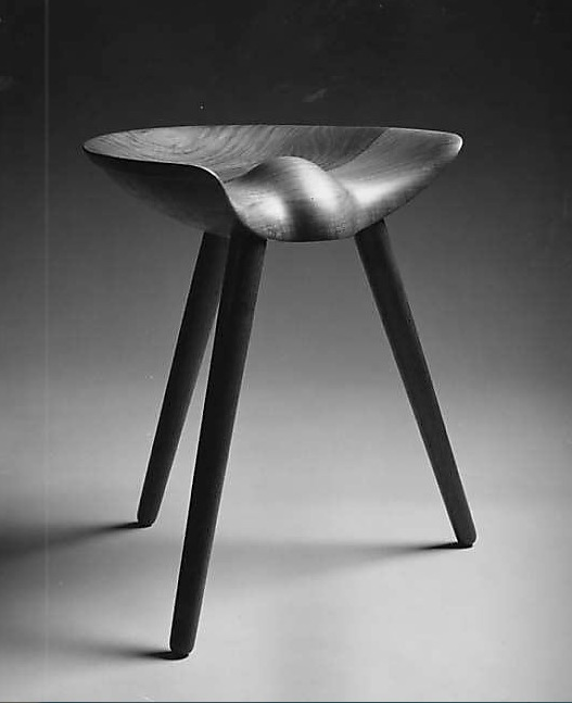 Three Legged Stool by Mogens Lassen