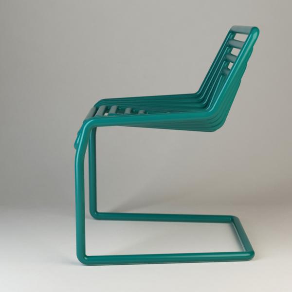 Tube Chair by Oleksandr Shestakovych Side 2