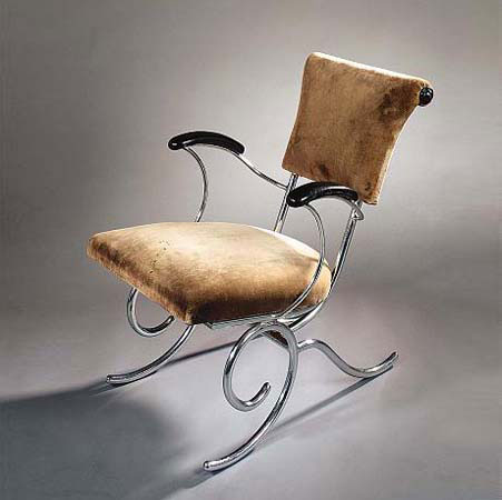 Tubular Armchair by Sybold van Ravesteyn