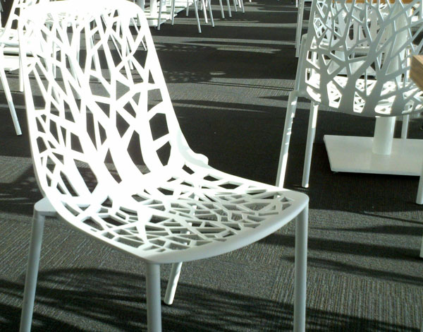 White Forest Chair by Robby Cabtarutti