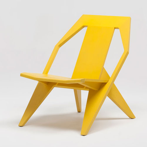 Yellow Medici Chair by Konstantin Grcic