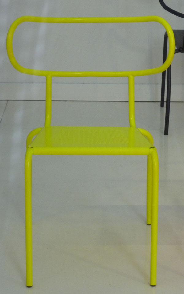Yellow Meteo Chair by William Sawaya