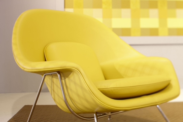 Yellow-Womb-Chair
