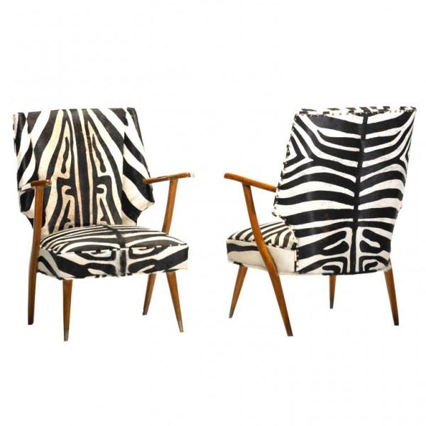 zebra chairs. Black Bedroom Furniture Sets. Home Design Ideas