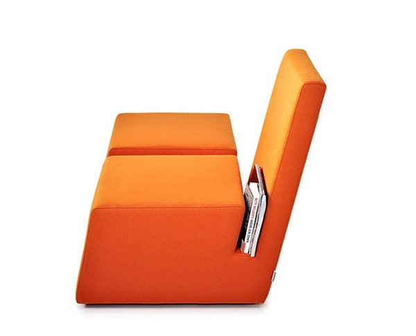 Orange Book Chair
