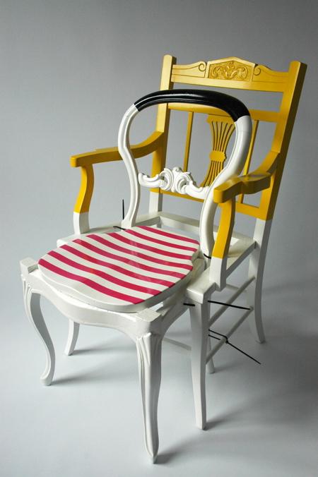 Lovely Custom Chair By Karen Ryan