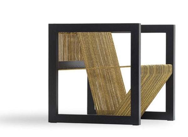 Illusion Armchair by Khalid Shafar