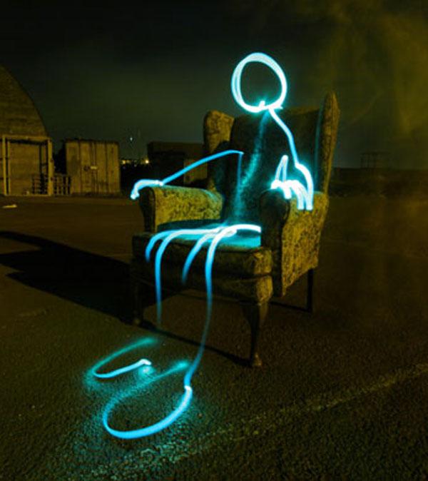 Light Graffiti Chair P...