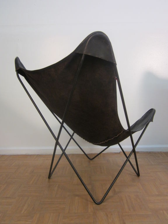 vintage knoll hardoy butterfly chair. Black Bedroom Furniture Sets. Home Design Ideas
